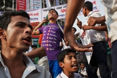 The Shahbagh rally in Dhaka, Bangladesh