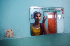 Lota Hijra in the mirror