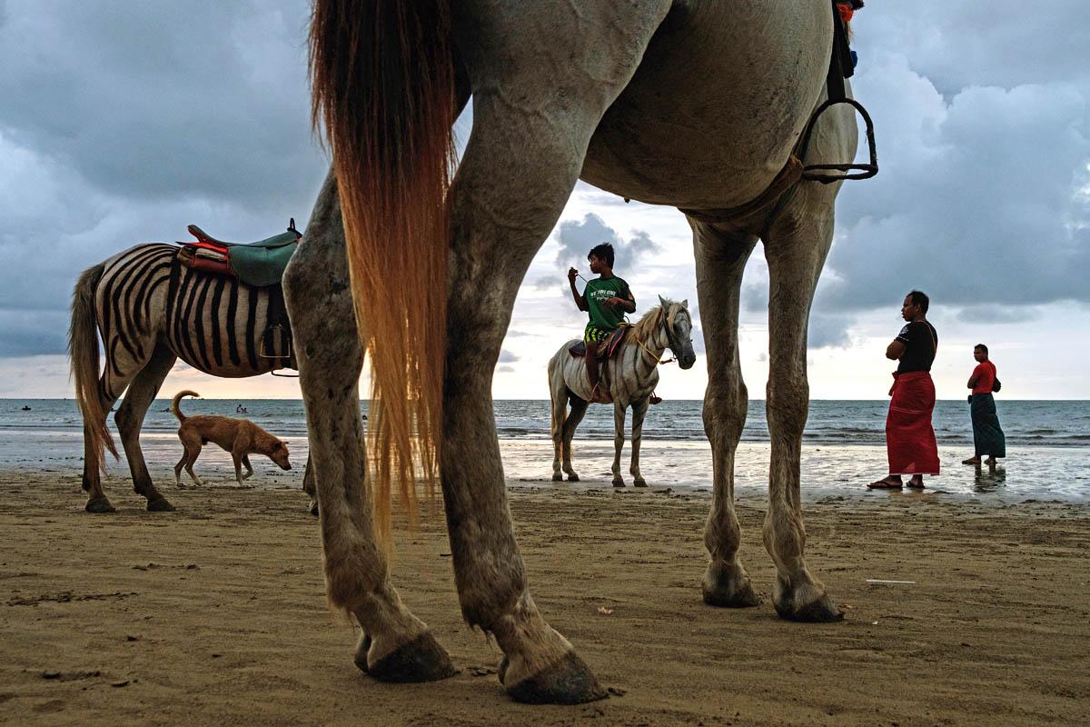 Beach Scene - Chaung Tha, Myanmar