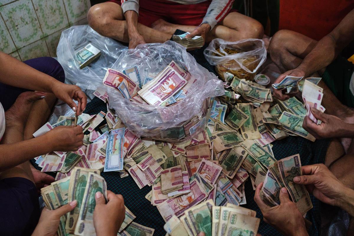 Money - Yangon, Myanmar.