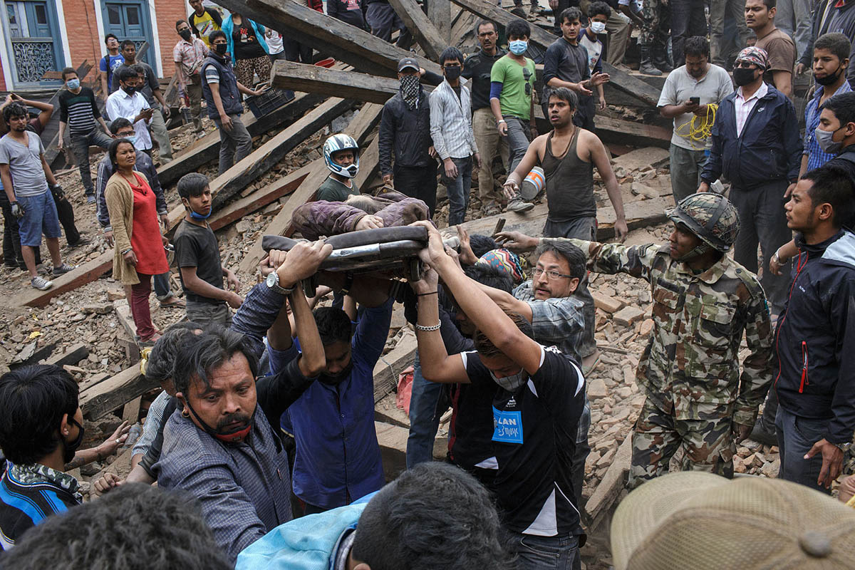 Nepal Earthquake, April 2015