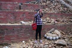 The day of the Earthquake in Kathmandu, 25 April 2015