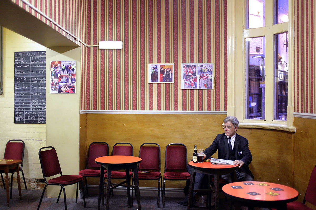 The Glamorgan County Council Staff Club in Cardiff