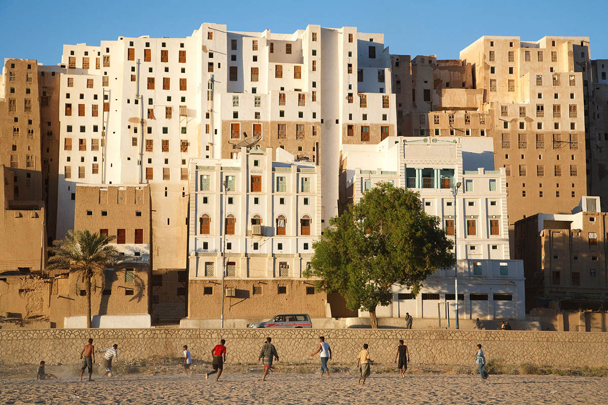 football in Shibam