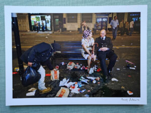 maciej_dakowicz_print_art_sale_cardiff_after_dark_mcdonalds_bench_epson_photo_01