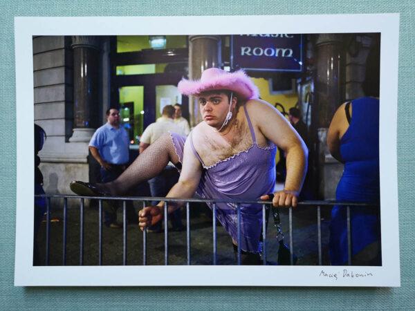 maciej_dakowicz_print_art_sale_cardiff_after_dark_pink_hat_epson_photo_01