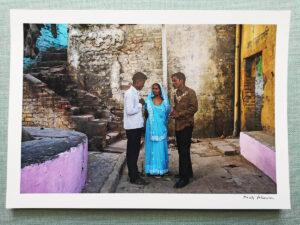 maciej_dakowicz_print_art_sale_a4_meeting_varanasi_india_photo_01