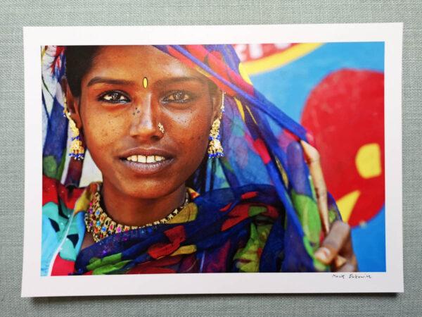 maciej_dakowicz_print_art_sale_a4_india_pushkar_sunita_photo_01